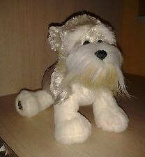 "Webkinz Ganz Schnauzer 9"" Puppy Dog Animal Toy"