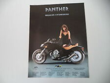 advertising Pubblicità 1995 MOTO PANTHER
