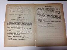 Regio Decreto 18/08/1887 Tassa sul bestiame comune di Sant'Angelo in Lizzola-665