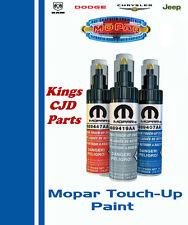 Chrysler Dodge Jeep Touch Up Paint True Blue Pearlcoat 5163947AA Code KBU / PBU