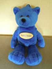 "OURS EN PELUCHE "" TENDRE PENSEE "" ( ETAT NEUF ) / TEDDY BEAR PLUSH ( NEW )"