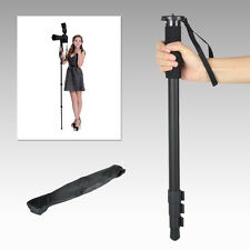 "For Canon Nikon DSLR Pinshe 1003 Lightweight 62"" Camera Monopod Portable & Bag"