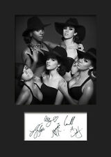 FIFTH HARMONY #2 A5 Signed Mounted Photo Print (Reprint) - FREE DELIVERY