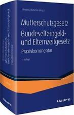 CHRISTOPH TILLMANNS - MUSCHG UND BEEG - PRAXISKOMMENTAR ZUM MUTTERSCHUTZGESETZ,