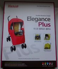 Manito Elegance Plus Stroller Weather Shield / Rain Cover Blue *New*