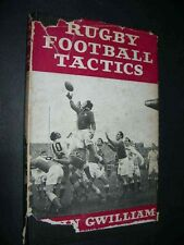 RUGBY FOOTBALL TACTICS BOOK GWILLIAM Wales British Lions 1958 Coaching TUNSTILL