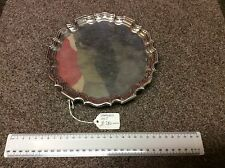 Solid silver card tray