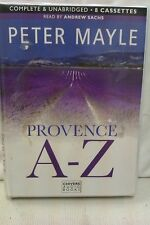 Provence A-Z by Peter Mayle: Unabridged Cassette Audiobook (GG4)