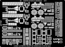 White Ensign 1/350 USS Wasp LHD1 Vehicles & Landing Craft details 35153