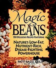 Magic Beans: 150 Delicious Recipes Featuring Nature's Low-Fat Nutrient-ExLibrary