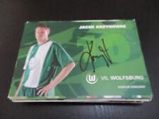 64301 Jacek Krzynowek VFL Wolfsburg original signierte Autogrammkarte