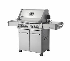 Napoleon P500RSIBPSS-1 Prestige 500 Propane Gas Grill On Cart with Infrared Roti