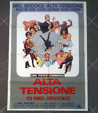 ALTA TENSIONE manifesto poster High Anxiety Madeline Kahn Mel Brooks Leachman