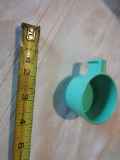Fisher Price Fun blue green teal coffee cups tea party drink dessert kitchen toy