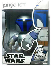 "Star Wars Jango Fett Mighty Muggs 6"" Urban Vinyl Collectible Figure 2008 New"