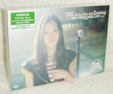 YUI 5th Tour 2011-2012 Crusing HOW CRAZY YOUR LOVE H.K. Ltd DVD+iPhone 4 sticker