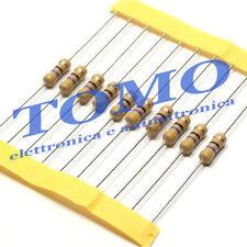 Resistenza Resistore 680R 680ohm 1/2W 5% carbone lotto di 20 pezzi