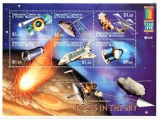 ROCKS IN THE SKY Space Exploration Probes/Satellites Stamp Sheet #1/2000 Grenada