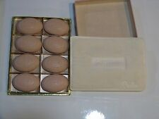 Vintage Revlon Soap 8 pieces in gift box - fragrance still strong!