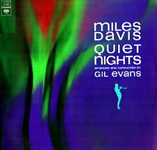 "MILES DAVIS - Quiet Nights Con G.Evans (Vinile=M / Cover=NM) LP 12"" USA COLOMBIA"