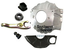 "NEW CHEVY BELLHOUSING KIT,COVER,CLUTCH FORK,BEARING,10.5"",GM,3858403,MANUAL,OEM"