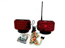 12 Volts Magnetic Tow Lights 48 LED's 12 V Cordless Towing Truck  LED Light Set