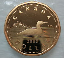 2009 CANADA LOONIE PROOF ONE DOLLAR COIN