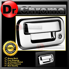 08-14 Super Duty F250+F350+F450 Triple Chrome Plated ABS Tailgate Handle Cover