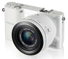 Samsung NX Series NX1100 20.0 MP Digital Camera - White (Kit w/ 20-50mm Lens)