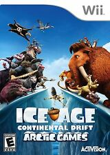 ICE AGE CONTINENTAL DRIFT ARCTIC GAMES WII! WILD RACE! FUN FAMILY GAME NIGHT!