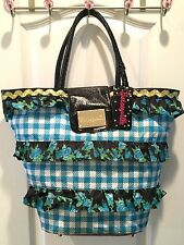 Betseyville by Betsey Johnson Tote, Large, Excellent Condition
