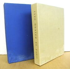 Yves Brayer et Paris - Texte de Pierre Mac Orlan 1965 Limited Edition