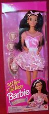 Mattel My First Tea Party Easy To Dress Barbie Doll With Accessories  MIB NRFB