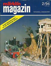Märklin magazin 2/94 Die Zeitschrift für modell eisenbahner Train modélisme