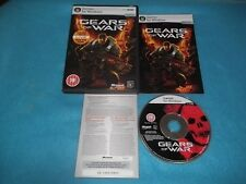 Gears of War PC-DVD v.g.c. rápido post Completa (incluye 1 Meses Live Gold Trail