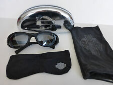 Genuine Harley-Davidson Streamline Goggles 98211-07V Black Day/Night Sunglasses