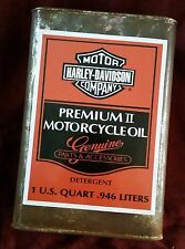 """HARLEY DAVIDSON MOTORCYCLE COMPANY PREMIUM OIL CAN Sticker Decal 8"""" X 6"""" USA HOG"""