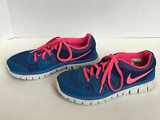 Girls  Shoes Nike Sneakers Size: 5 Y (Pink & Blue)