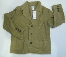 NWT Gymboree Aviator School M 7-8 Tan Corduroy Blazer Sports Coat Jacket
