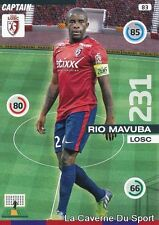 083 RIO MAVUBA FRANCE LOSC LILLE CARD ADRENALYN 2016 PANINI