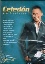 Jorge Celedon Sin Fronteras 1    BRAND NEW SEALED  DVD/CD