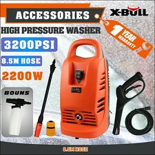 X-BULL 3200PSI High Pressure Water Cleaner Washer Electric Pump Hose Gurney
