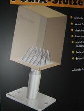 EUROTEC - Pedix Pied d'appui Porte-poteaux - réglable en hauteur - 190 -1er