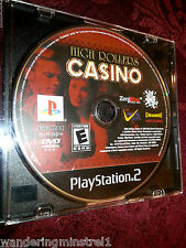 High Rollers Casino - PlayStation 2 , PS2 , Video Game ZeniMax & Mud Duck