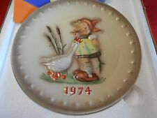 Great Collectible NIB M.J. Humme -Goebel Collector Plate - 1974.............SALE