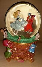 Disney Art of Aurora Sleeping Beauty Schneekugel Snow Globe Melodie Music