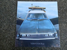 CHRYSLER VALIANT HARD TOP 1973 VJ  SALES BROCHURE.''MINT''