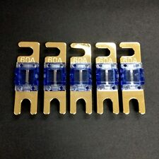 5 x NEW 60A Auto Zinc Nickel-Plated AFS MIDI Fuse Mini ANL Fuse 60 AMP #Agtc