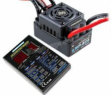 Hobbywing EZRUN WP SC8 Waterproof 120A Brushless ESC + LED Program Card RC Car