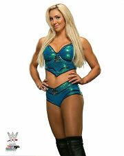 """CHARLOTTE FLAIR WWE PHOTO OFFICIAL STUDIO WRESTLING 8x10"""" PROMO"""